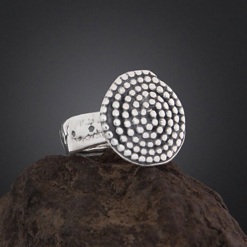 Sherry Tinsman Beaded Spiral Ring