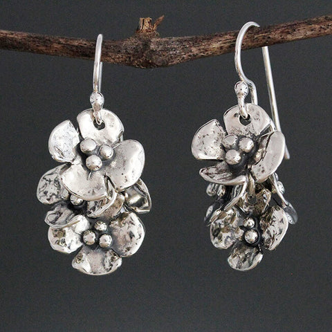 Sherry Tinsman Dogwood Bouquet Earrings