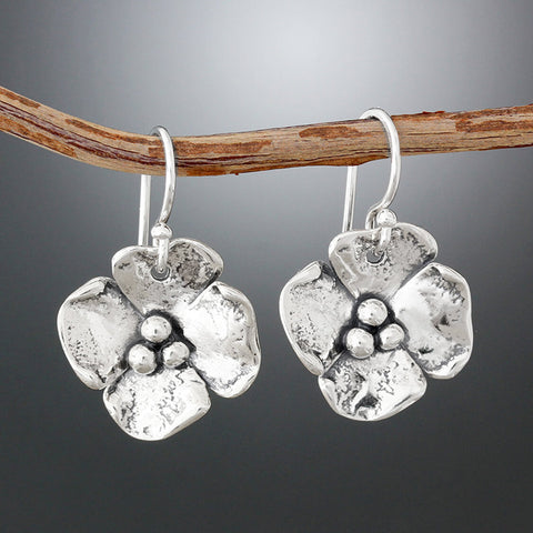 Sherry Tinsman Medium Dogwood Earrings