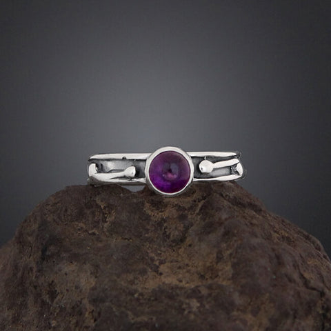 Sherry Tinsman Single Jennifer Amethyst Ring