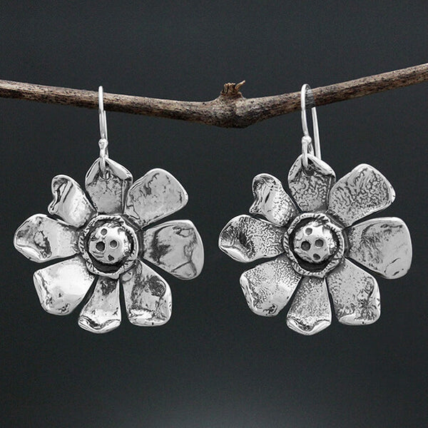 Sherry Tinsman Sunflower Earrings