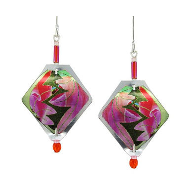 Singerman & Post Pink Flower Fusion Earrings