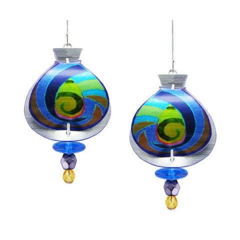 Singerman & Post Magic Swirl Earrings