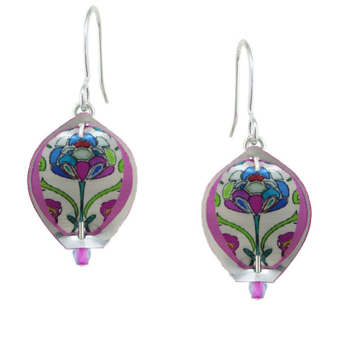 Singerman & Post Mini Flower Blossom Earrings