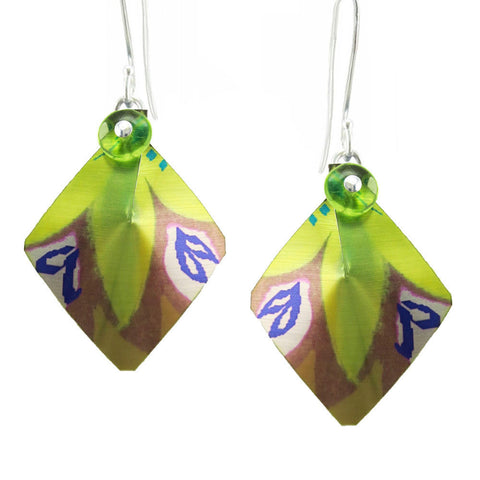 Singerman & Post Leaf Motif Earrings