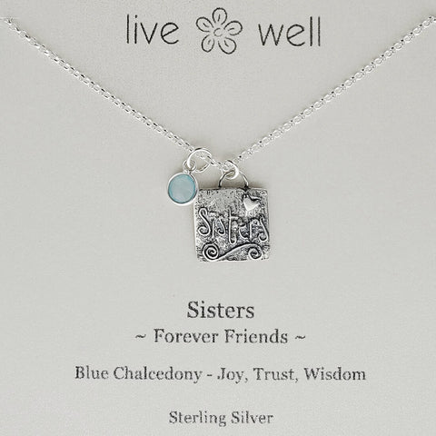 Sisters Friends Forever Necklace