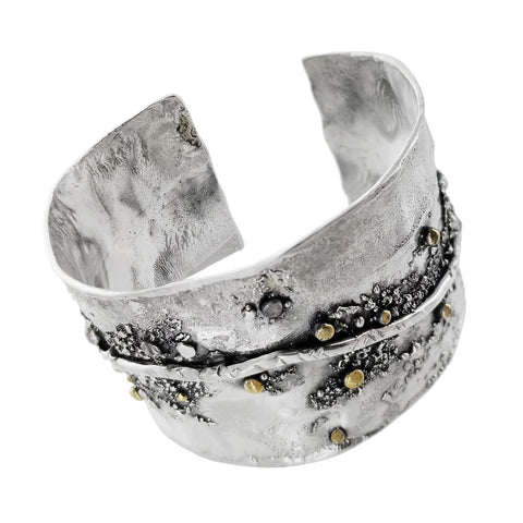 Tamara Kelly Milkyway Night Sky Cuff Bracelet Side View
