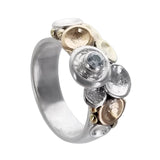 Tamara Kelly Pebbles On The Beach CZ Ring Closer Side View