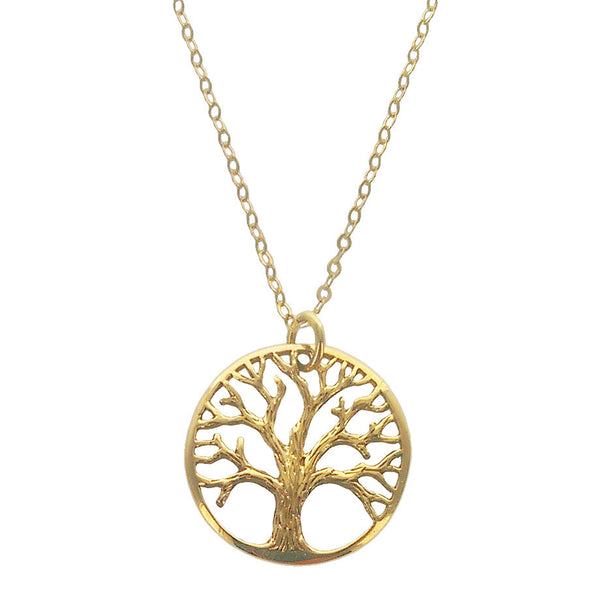 Tree Of Life Necklace In Bronze