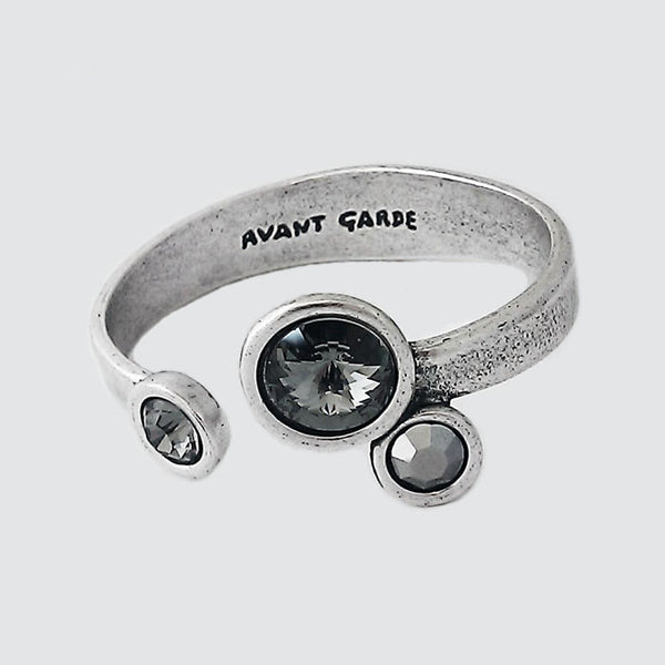 Avante Garde Paris Triple Crystal Cuff