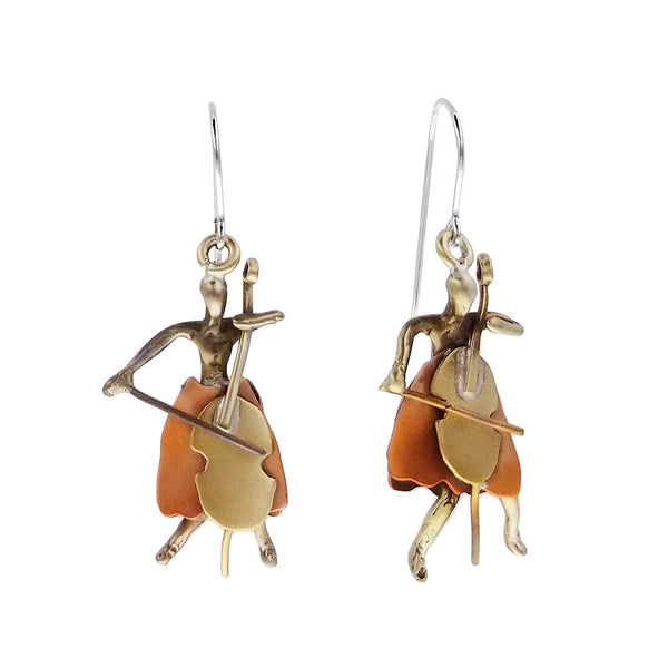Whitney Designs Cellist Earrings