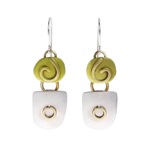 Whitney Lime Green Dream Earrings