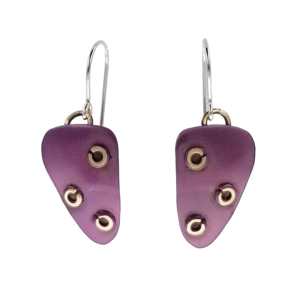 Whitney Passionfruit Purple Earrings