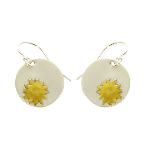 You Bring Sunshine Quote Earrings