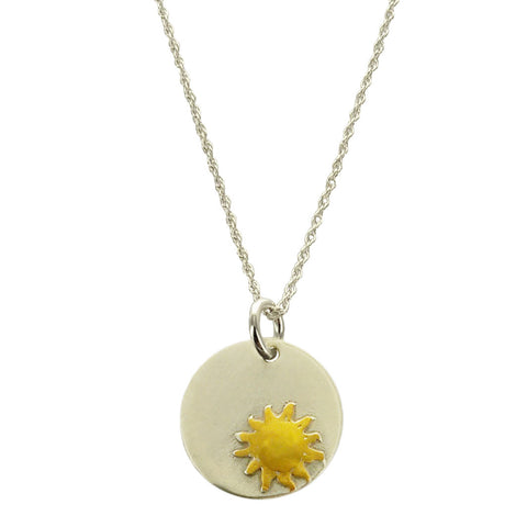 Radiant Sun Inspirational Necklace