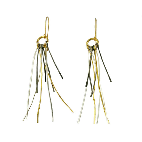 Zzan Israeli Tendril Earrings