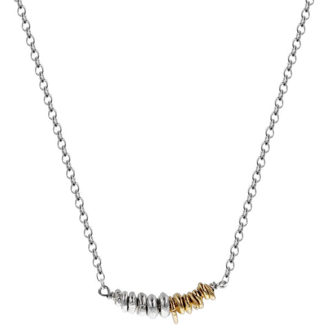 Zina Kao Nugget Bar Necklace