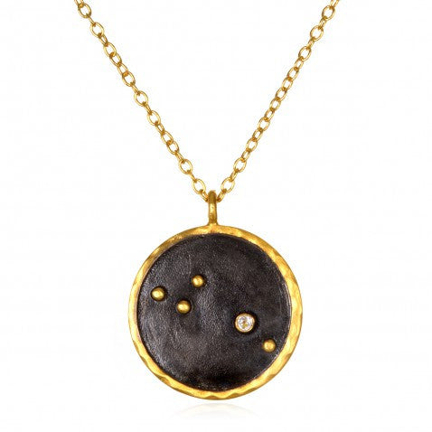 Satya-Zodiac Aries Diamond Necklace