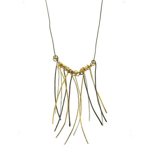 Zzan Israeli Tendril Necklace