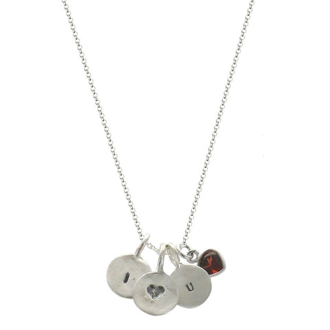 b.u. I Love You Necklace