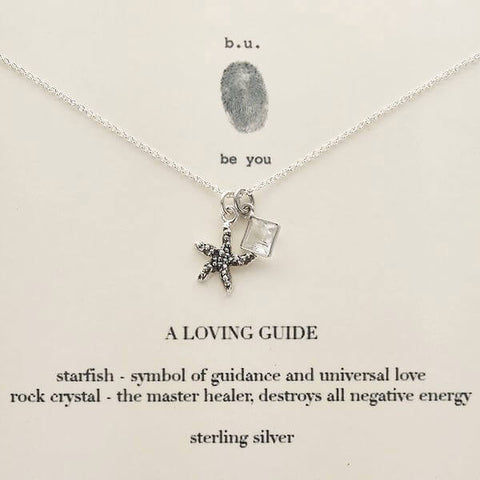 b.u. A Loving Guide Necklace