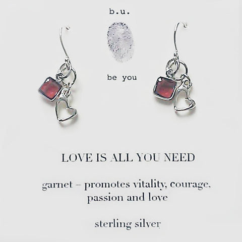 b.u. All You Need Is Love Earrings