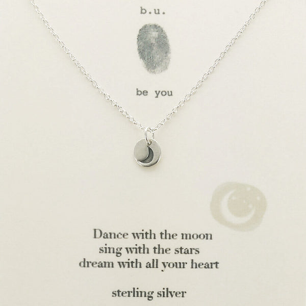 b.u. Dance With the Moon Necklace