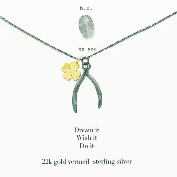 b.u. Dream Wish Do Necklace