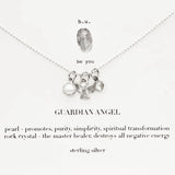 b.u. Guardian Angel Charm Necklace