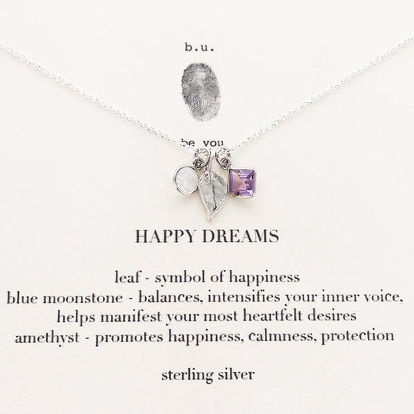 b.u. Happy Dreams Necklace