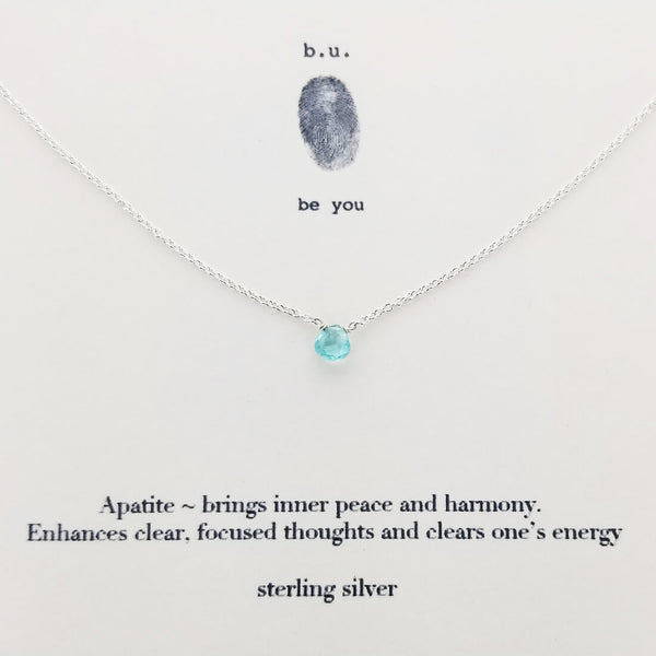 b.u. Inner Peace And Harmony Necklace