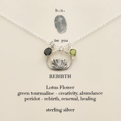b.u. Inspirational Rebirth Necklace