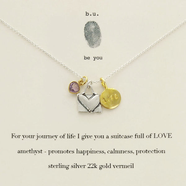 b.u. Journey Of Life Necklace
