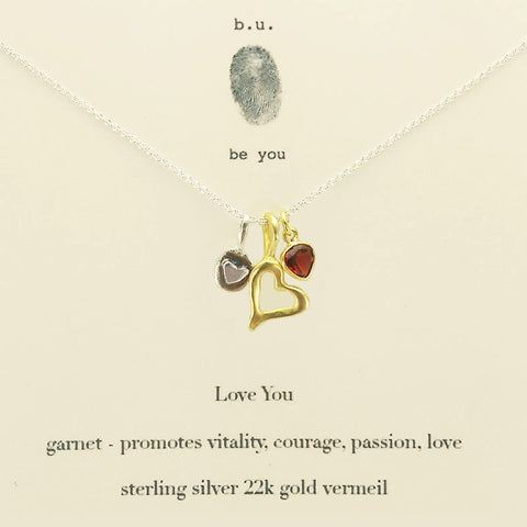 b.u. Love You Necklace