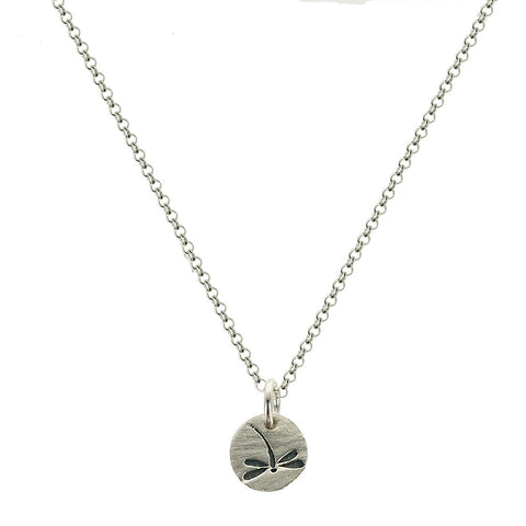b.u. May You Touch Dragonflies Necklace