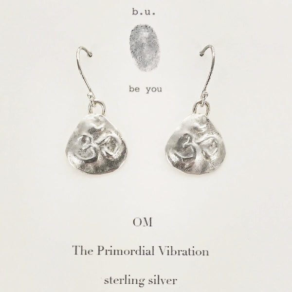 b.u. Om Earrings