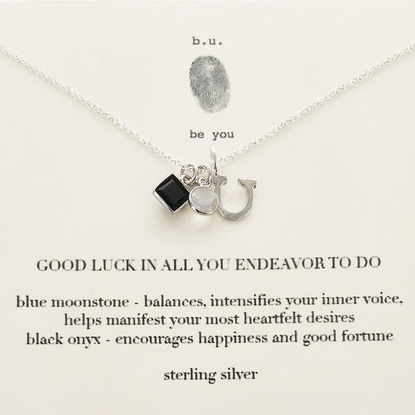 b.u. Good Luck In All You Endeavor Necklace