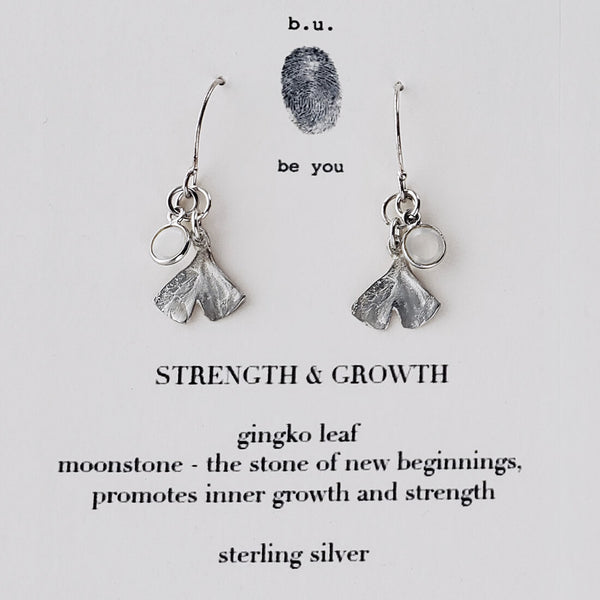 b.u. Strength And Growth Earrings