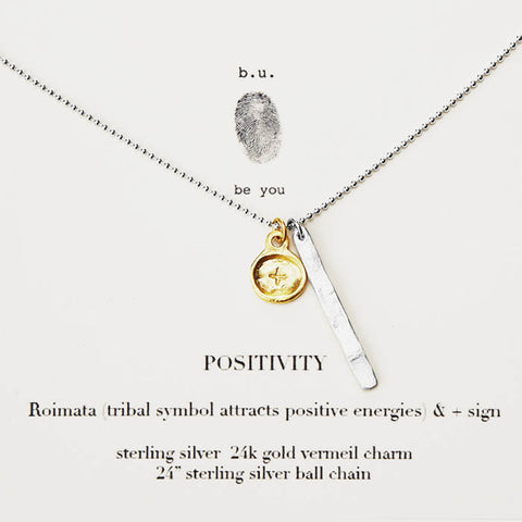 b.u Positive Energy Necklace