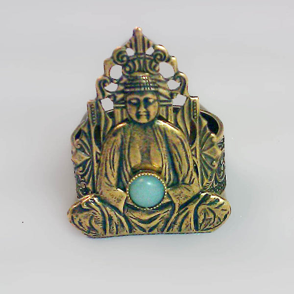 Jan Michaels Amazonite Enlightenment Ring