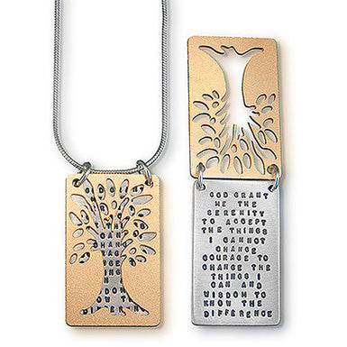 Kathy Bransfield Serenity Prayer Necklace