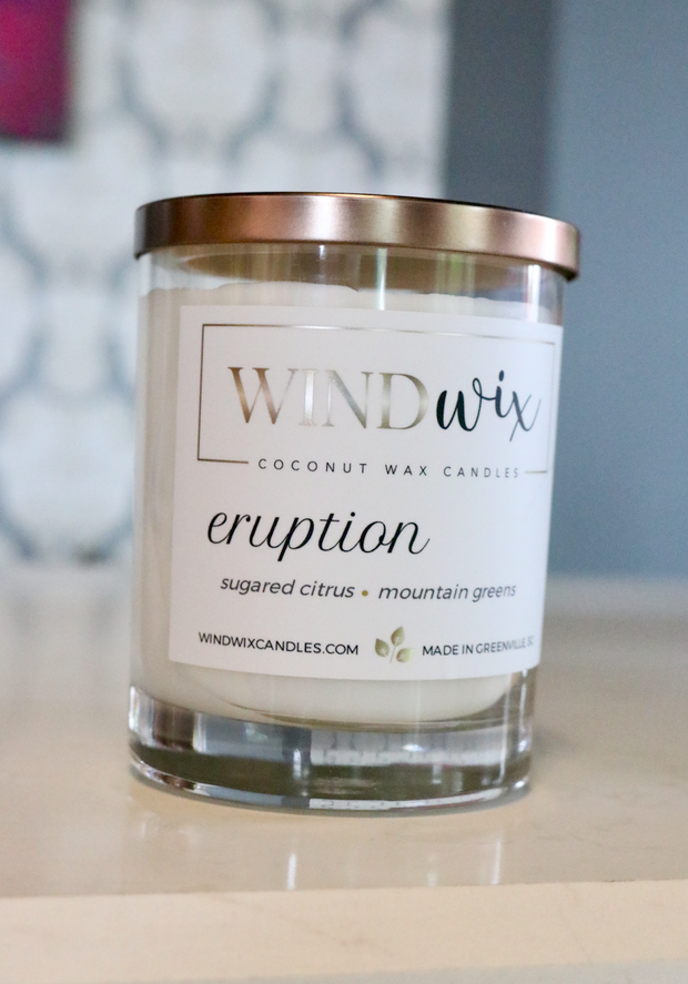 WindWax Eruption Candle