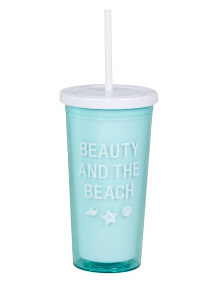Beauty and the Beach Tumbler
