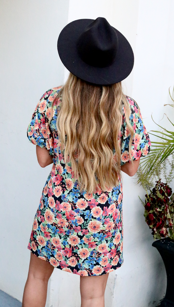 My Girl Puff Sleeve Dress