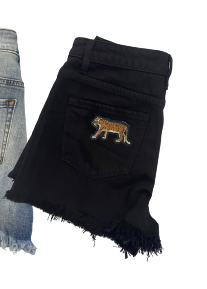 Easy Tiger Black Denim Short