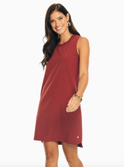 Southern Tide Game Day Dress - Chianti