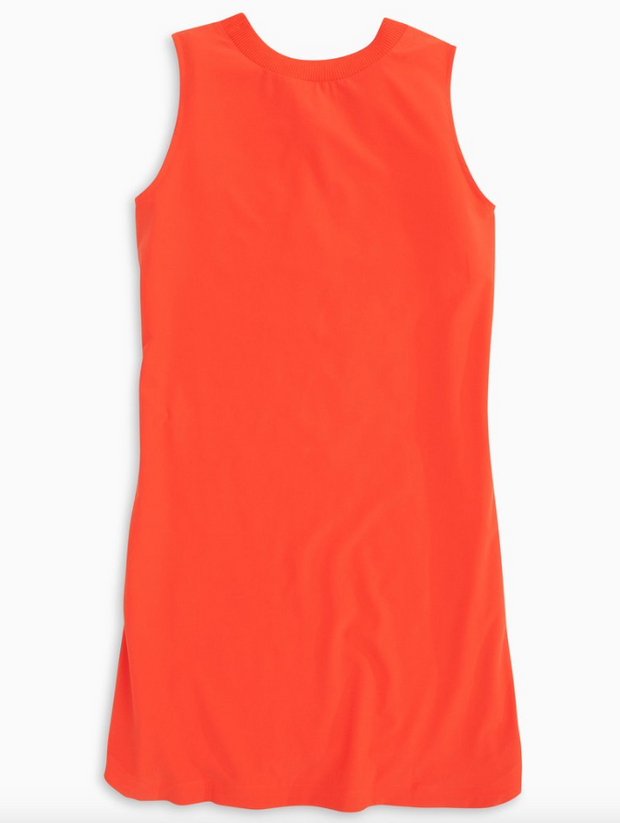 Southern Tide Game Day Dress - Endzone Orange