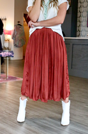 Salem Skirt - Cinnamon Spice