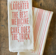 Laughter is the Best Medicine Kitchen Towel
