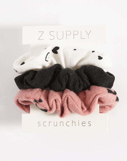 Z Supply Scrunchie Set - Rose Blossom